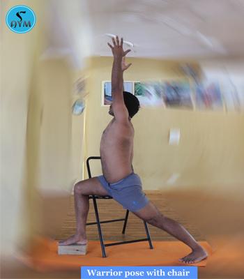 warrior pose  veerabhadrasana  steps and benefits