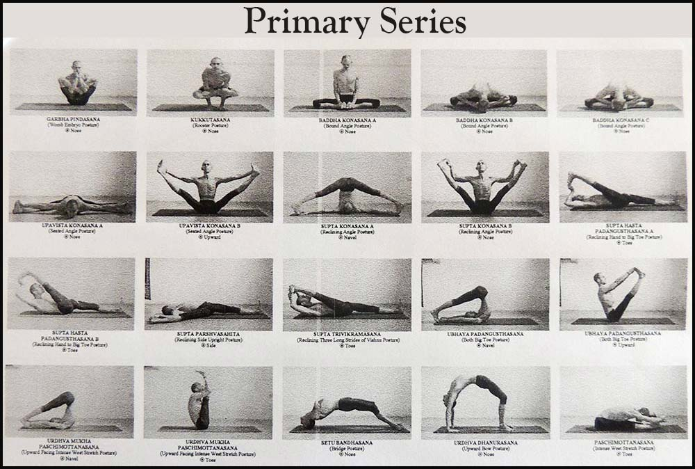 Ashtanga Vinyasa Primary Series Complete Sequence