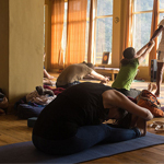 Indian yoga school in rishikesh