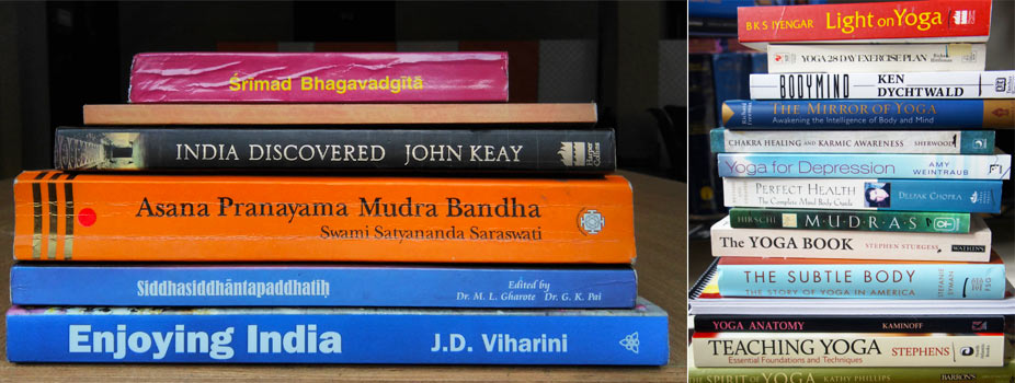 yoga books by indian writter