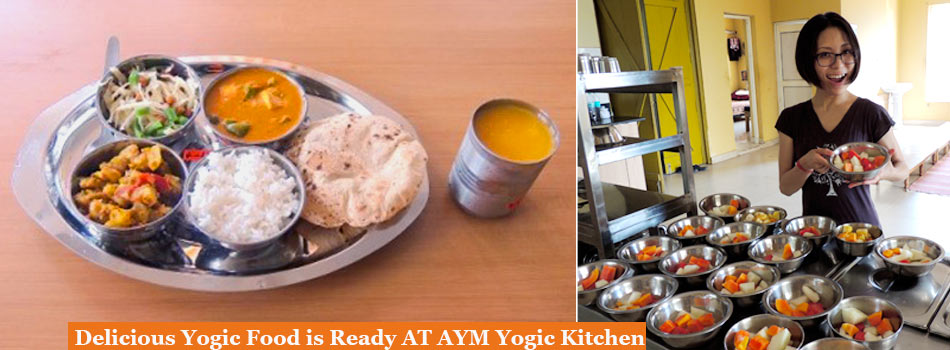 yogic food at aym